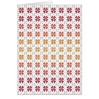 Cartão Manhã letão Sun IV