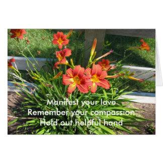Cartão Manifeste seu amor