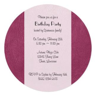 Cartão Mantenha o couro cor-de-rosa da calma e do encanto