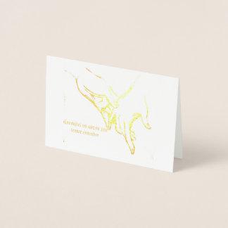 Cartão Mãos Dadas
