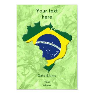Cartão Mapa de Brasil
