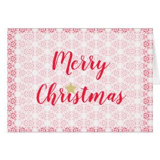 Cartão Mapa de desejos Merry Christmas