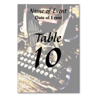 Cartão Máquina de escrever antiga Oliver #9