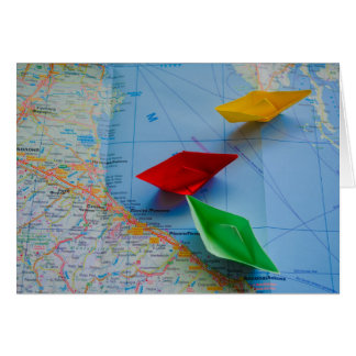 Cartão Mar de adriático