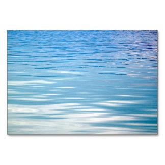 Cartão Mar do fundo da tranquilidade