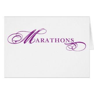 Cartão Maratonas de Kresday