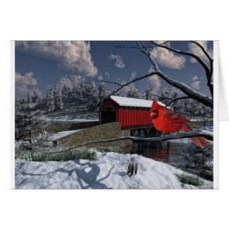 Cartão Maravilhas do inverno