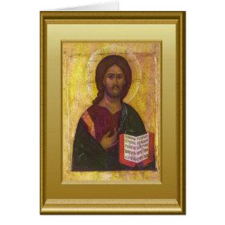 Cartão Marca cristã Luke e John de Matthew do escritor do