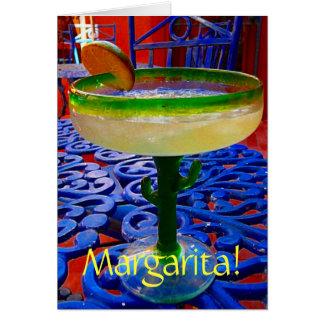 Cartão Margarita!