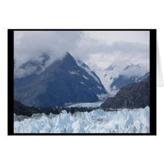 Cartão Margerie geleira setembro de 2016