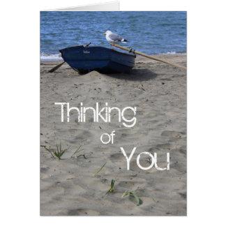Cartão Marinheiro da gaivota