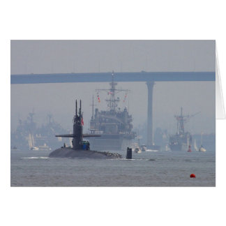 Cartão Marinho dos navios nucleares dos sub dos