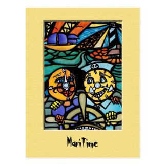 Cartão marítimo