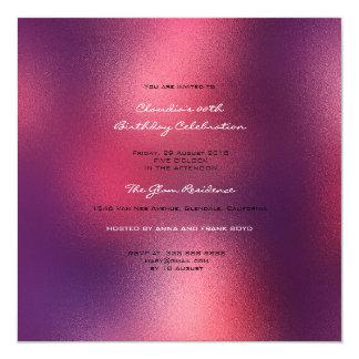 Cartão Marrom de vidro mínimo de Borgonha do vinho tinto