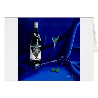Cartão Martini sujo