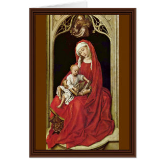 Cartão Mary com criança do cristo (Madonna Duran) por