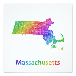 Cartão Massachusetts