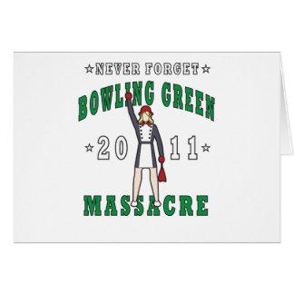 Cartão Massacre 2011 de Bowling Green