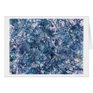 Cartão Matéria escura - #2.0 - arte abstracta