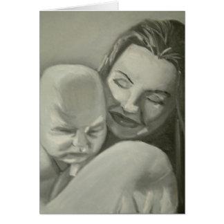 Cartão maternal do amor