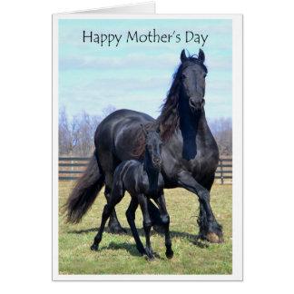 Cartão Maternidade: Dia das mães feliz com escrita