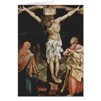 Cartão Matthias Grünewald- a crucificação