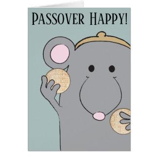 """Cartão """"Matzah do Passover, Matzah """""""
