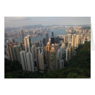 Cartão máximo de Hong Kong Victoria