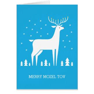 Cartão Mazel alegre Tov