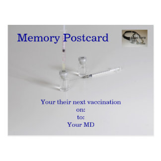 Cartão médico cartão postal