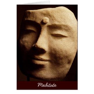 Cartão Meditate