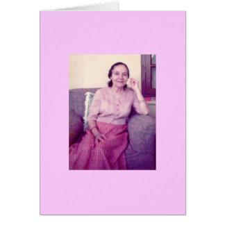 Cartão Mehera, 1976