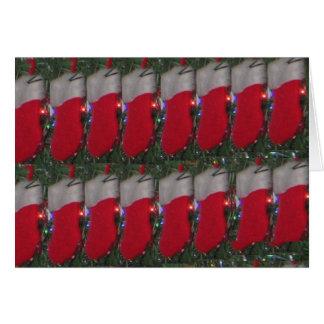 """Cartão Meias do Natal - """"personalize-me """""""
