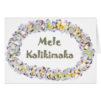 Cartão MeleKalikimaka
