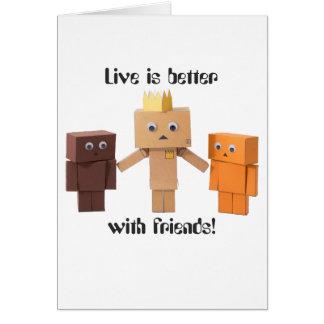 Cartão melhore com amigos