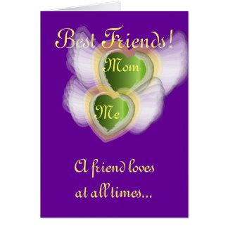 Cartão Melhores amigos! , a mamã Me-Personaliza