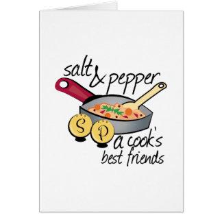 Cartão Melhores amigos dos cozinheiros