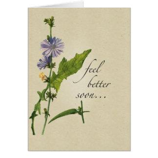 Cartão Melhores Wildflowers da sensação, tom religioso