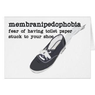 Cartão Membranipedophobia