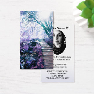 cartão memorável trajeto enchanted