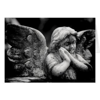 Cartão Memorial angélico