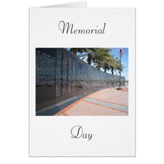 Cartão Memorial Day