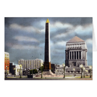 Cartão Memorial de guerra Indianapolis Indiana