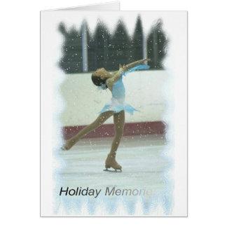 Cartão Memórias de patinagem
