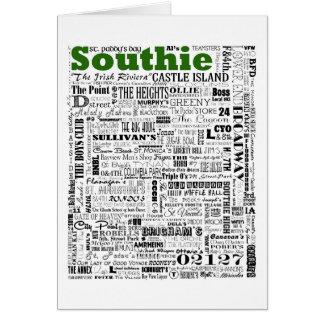 Cartão Memórias de SOUTHIE