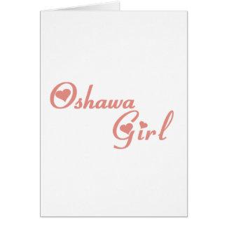 Cartão Menina de Oshawa