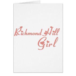 Cartão Menina de Richmond