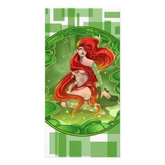 Cartão Menina irlandesa
