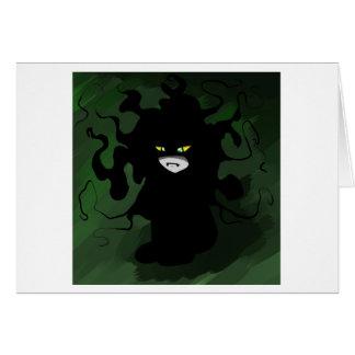 Cartão Menino do monstro