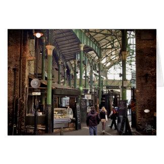 Cartão Mercado da cidade, Londres [cartão]
